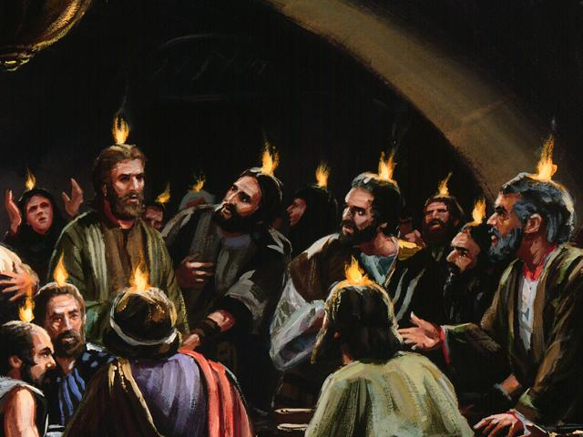 pentecost story The christian holiday of pentecost, which is celebrated on the seventh sunday (49 days) after easter.